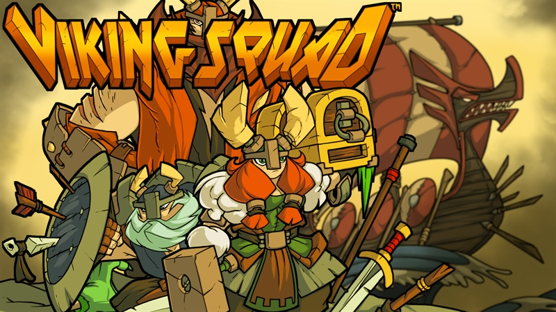 Viking Squad PC Game Free Download Poster
