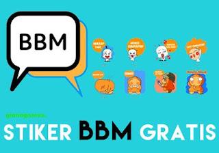 Cara Mendapatkan Sticker BBM Android Secara Gratis