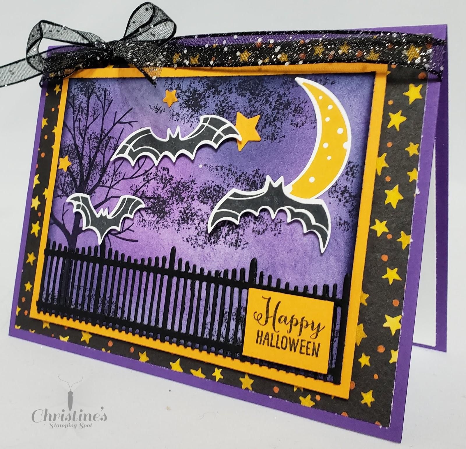 Открытка к хэллоуин своими руками