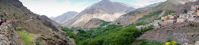 to toubkal peak atlas mountains imlil valley