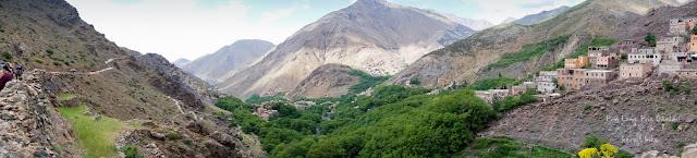 to toubkal peak atlas mountains imlil valley