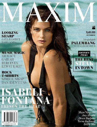 Majalah MAXIM Indonesia Edisi April 2016 - www.insight-zone.com