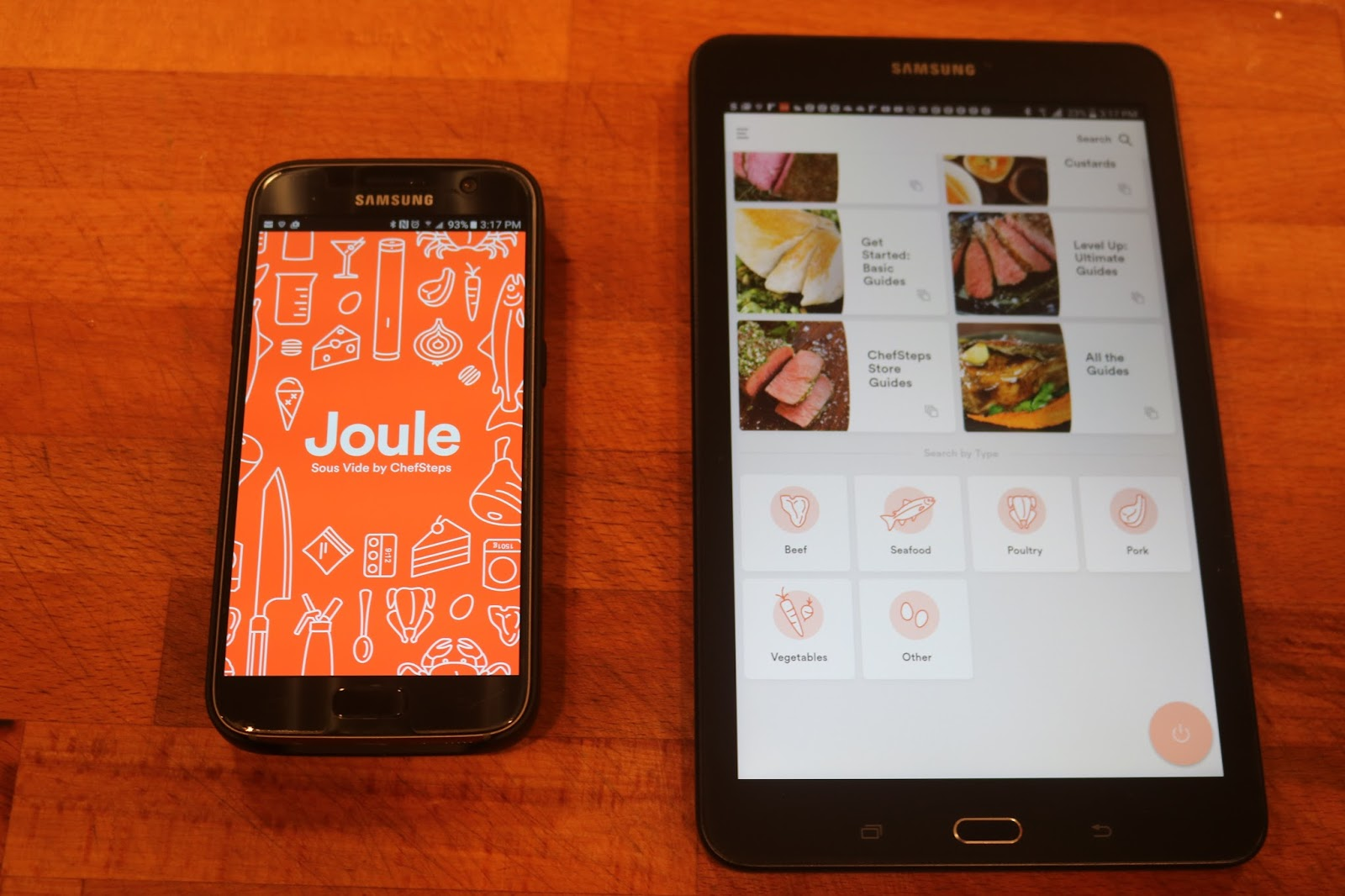 uncle t s kitchen review of joule sous vide by chefsteps