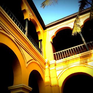 Detalhe do Segundo Claustro do Convento de Santo Domingo, em Lima, Peru