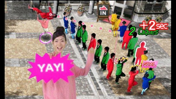 Tokyo Crash Mobs Grace Throwing Nintendo