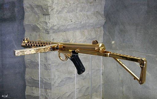 Vince Real's Site: Saddam Hussein's Guns Made of Gold