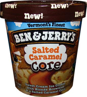 Ben Jerry S Salted Caramel Core Ice Cream