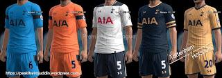 Kits Tottenham Hotspurs 2016-2017 Pes 2013