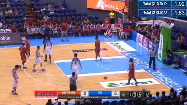 Live Streaming List: NorthPort vs TNT 2018 PBA Governors' Cup