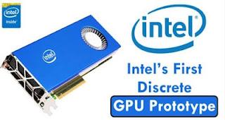 Kartu Grafis, Kartu Grafis Intel, GPU