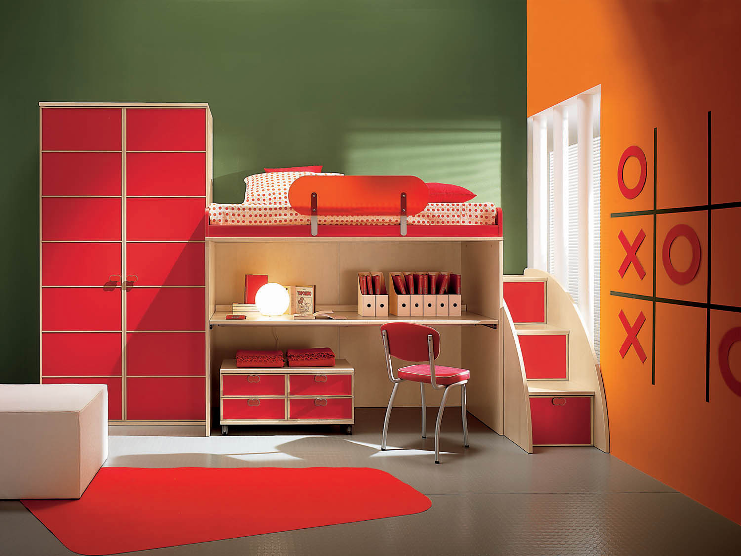 Kids Room Green And Blue Childrens Bedroom Colour Schemes ...