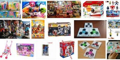 Supplier distributor mainan import Cina, Jepang murah