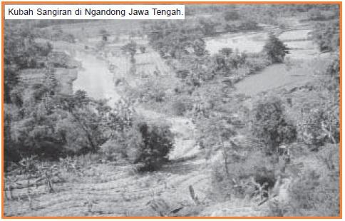 Kubah Sangiran di Ngandong Jawa Tengah.