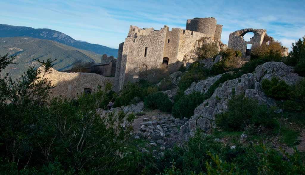 Ruinas del castillo de Peyrepertuse