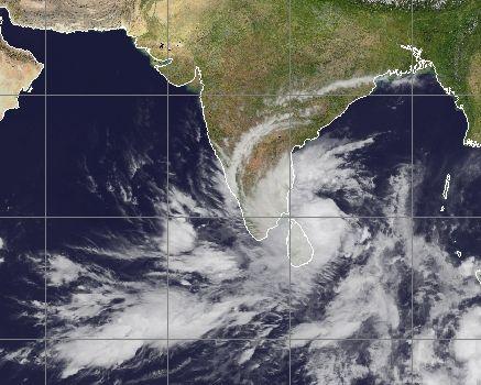 Tamil Nadu Weather Map Cyclone NILAM Will Bring Heavy Rains To Tamil Nadu, Andhra, Orissa