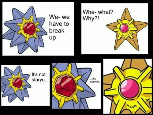 It's not Starmie, it is Staryou
