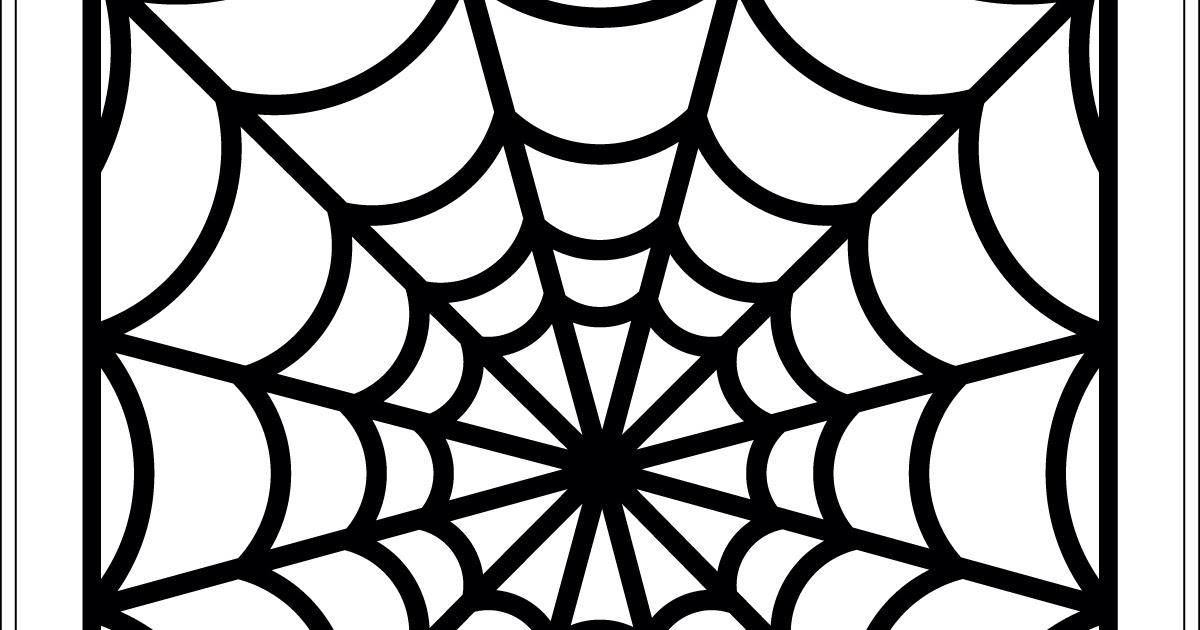 17turtles Halloween Spider Web Background Digital Cut Files