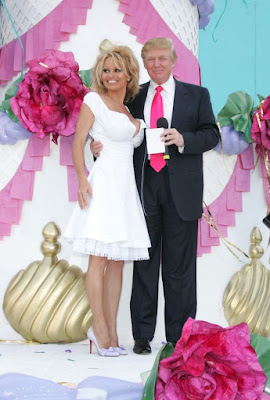 Pamela Anderson Says Donald Trump Paid Her $500 To Attend His Birthday Party