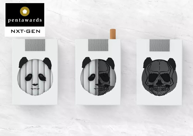 "The 18-year-old Chinese college student design creative cigarette case has become the youngest winner in the history of ""Package Design Oscar""!"