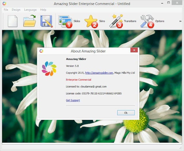 Activation Code for Amazing Slider 5.8 Enterprise commercial Edition