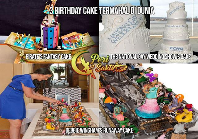 3 Birthday Cake Termahal di Dunia