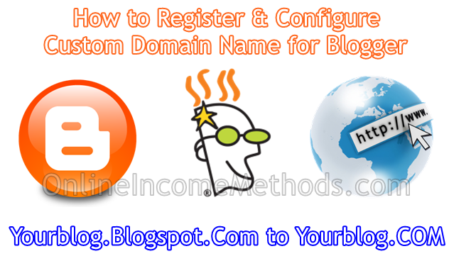 How to register cheap custom domain name for Blogger blog?