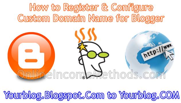 How to register cheap custom domain name for Blogger blog?