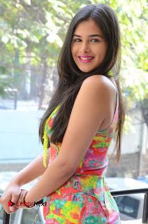 Telugu Actress Prasanna Stills in Short Dress at Inkenti Nuvve Cheppu Press Meet Stills  0045.JPG