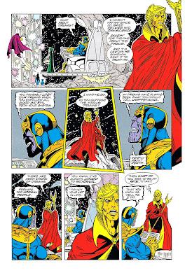 Debate entre Warlock y Thanos