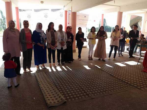 الثانوية التأهيلية دكالة: نشاط تربوي بمناسبة اليوم العالمي للمرأة و حفل التميز