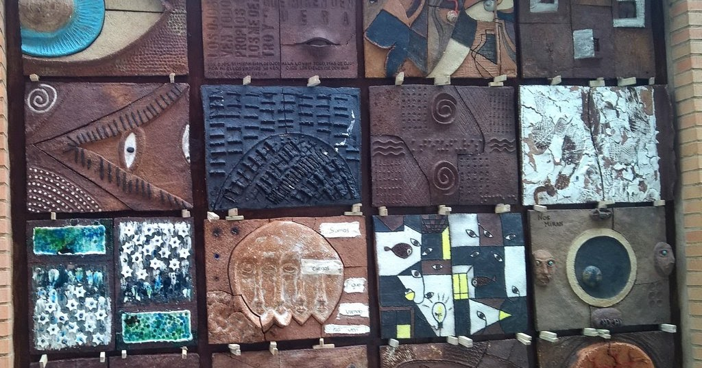 La rioja de la a a la z mural dedicado al sentido de la for Mural de los 5 sentidos