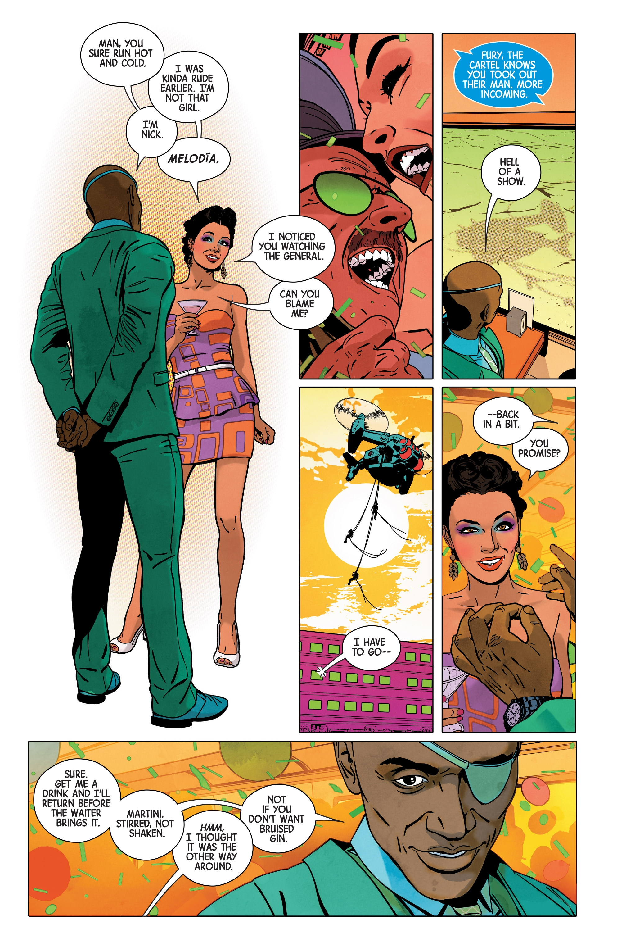 Read online Nick Fury comic -  Issue #3 - 10