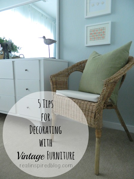 5 Tips for Decorating with Vintage Furniture