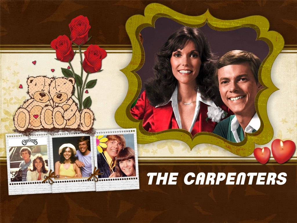 The Carpenters Collage Wallpaper
