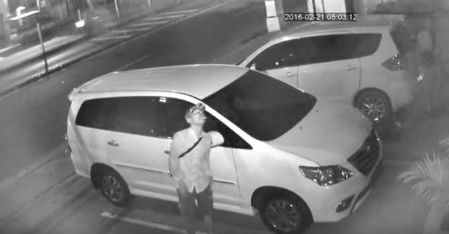 Ini Pencuri Mobil Syekh Ali Jaber, Tolong Share