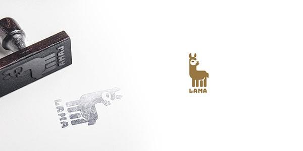 Inspirasi Desain Logo Kreatif 2017 - Lama Logo Design