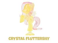 MLP Squishy Pops Series 3 Fluttershy Figure by Tech 4 Kids