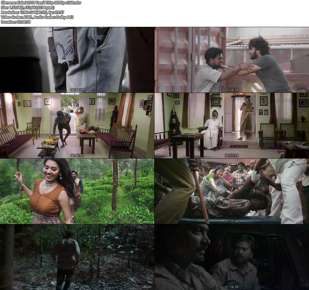 Kalari 2018 Tamil 720p HDRip x264 | 480p 300MB | 100MB HEVC Screenshot