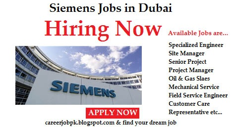 Jobs in Siemens UAE