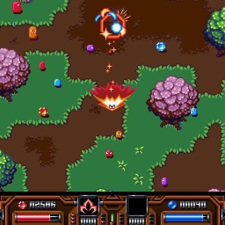 Indie Retro News: Alarcity - PixelGlass upcoming Amiga game