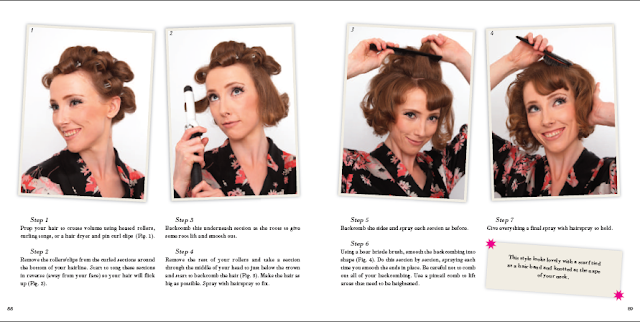 Style Me Vintage 1960s Jackie Kennedy bouffant vintage hairstyle tutorial