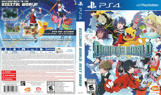 Digimon World: Next Order PS4