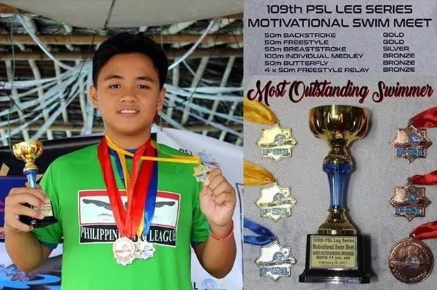 Joshua Santiago 58 medals Mabalacat Pampanga