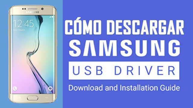 descargar controladores USB para Samsung