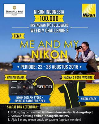 Nikon Instagram Weekly Challenge 2
