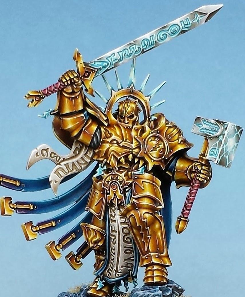 Non Metallic Gold Painting