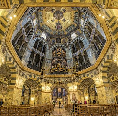 Capilla palatina Catedral de Aquisgrán