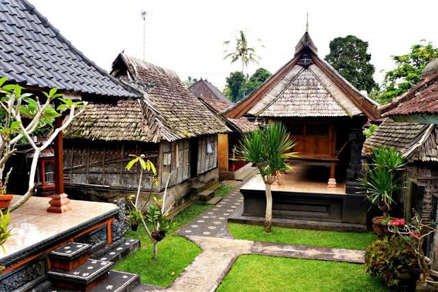 Rumah tradisional bali