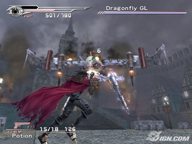 Dirge Of Cerberus Final Fantasy VII PS2 ISO PPSSPP PS2