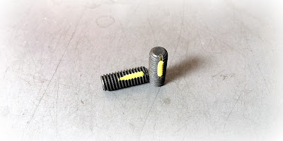 Alloy Steel Set Screws With Nylon Strip - DIN913 M6 X 1M X 16MM Socket Set Screw With Flat Point